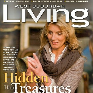 West Suburban Living recognizes Deb as local author