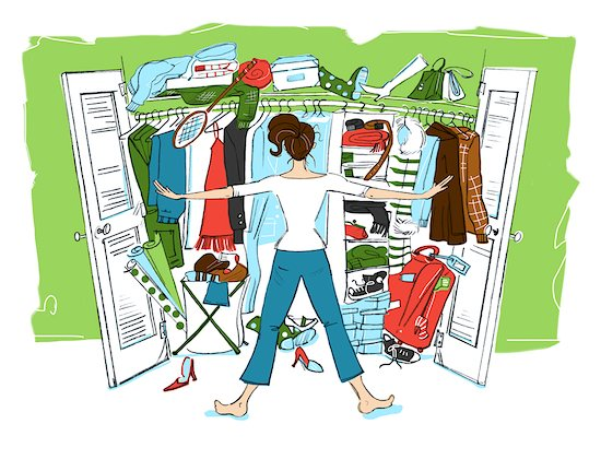 Cleaning Out Closets, Part 1 – Personal Closets